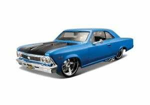 Chevrolet Chevelle SS396 in Metallic Blue (1:24 scale by Maisto 31333MB)