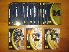 2015 Panini Collegiate MICHIGAN WOLVERINES Complete Base Set of (50) cards qty