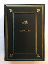 TALLEYRAND 1993 JEAN ORIEUX