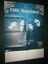 The Brandos / Nowhere Zone: Konzertplakat, Tourposter, Promo Poster - 83 x 59 cm