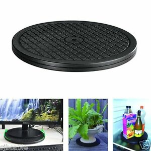"""New Multipurpose 10"""" Rotating Turntable Lazy Susan 65lbs 360 Swivel Home Kitchen"""