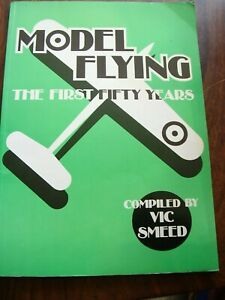 AEROMODELLER BOOK MODEL FLYING FIRST 50 YEARS VIC SMEED MODEL AIRCRAFT MAG