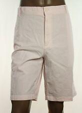 New Mens Izod Fairy Tale Pinstripe Flat Front Seersucker Cotton Shorts 42