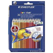 Staedtler Watercolor Pencils Box of 36 Colors (14410Nd36)