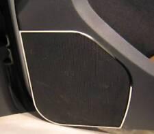 D VW Caddy Chrom Rahmen für Türlautsprecher Typ2 - Edelstahl poliert