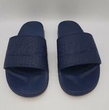 SLYDES Mens Size 8 (42 EU) Slyders casual & Beech Wear Sandal Blue In E U C