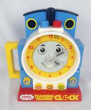 Vintage 1992 Thomas Tank Engine Teaching Talking Clock Education Learning Toy