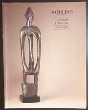 Auction Catalogue Sotheby's New York Important Tribal Art May 15, 1991 Oceanic