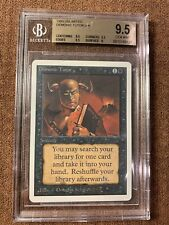 Demonic Tutor, Unlimited, Graded (BGS 9.5), MTG, Vintage, Legacy, Commander EDH