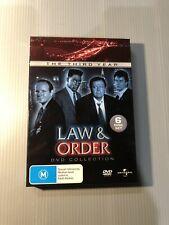 Law and Order Season 3 (DVD) R4 - 6 Disc Set