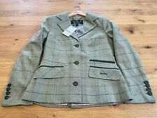 Barbour Trent Tailored Tweed Jacket - UK 10 New/Tagged New AW20 Style - RRP £199