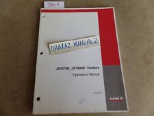 CASE JX1075N & JX1095N Tractor Operator's Manual  87354193