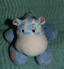 ❤️ HIPPO PLUSH BLUE WHITE TAN SPOTS GIRAFFE COW LOVEY BABY CARTERS  SECURITY