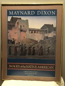 Maynard Dixon Poster 'Images Of The Native American'