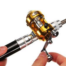 Portable Mini Telescopic Pen Shape Aluminum Alloy Pocket Fishing Rod Reel Combo