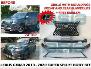 LEXUS GX460 2013 - 2020 SUPER SPORT BODY KIT WITH EMBLEM