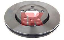 NK Juego de 2 discos freno Antes 256mm ventilado para SEAT VW GOLF 204758