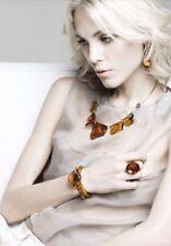 Antica Murrina Myth--Murano Glass Necklace+Matching Earrings+Bracelet+Ring