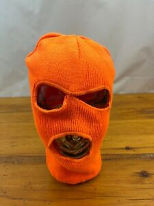 Knit Adult  Facemask Hunting Winter Face Mask Mouth & Eyes Openings OSFA