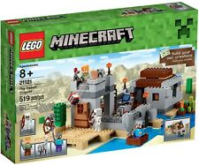 2015 LEGO THE DESERT OUTPOST #21121 MINECRAFT NEW XMAS RETIRED HARD TO FIND WOW!