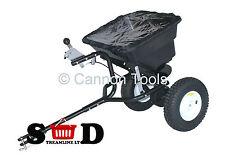 80 lb (environ 36.29 kg) Multi Usage sel Grit Salière Graines pelouse engrais tractable épandeur