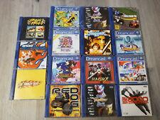 Dreamcast Spiele Sammlung (15 Stück) mit bei Maken X, Sonic Adventure 2 ...