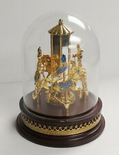 Franklin Mint Jewels of the Carousel Horse Pin Collection Austrian Crystals