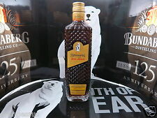 BUNDABERG RUM ROYAL LIQUEUR BANANA TOFFEE CRYSTAL CUT BOTTLE