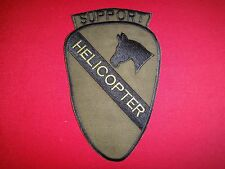 US 1st Cavalry Division SUPPORT HELICOPTER Group Vietnam War Subdued Patch