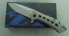 ZERO TOLERANCE KNIFE BY KERSHAW ZT0801TI 801 801TI TITANIUM FOLDER MADE IN USA!!