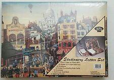 NIB Vintage LaVie Stationery Letter Set Paris Themed. Sealed