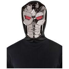 Dark Robot Mask Halloween Horror Mens Adults Fancy Dress Costume Accessory