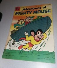 ADVENTURES OF MIGHTY MOUSE #145 dell comics THE WRONG DUMMY Cartoon funny animal