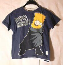 The Simpsons Bart Simpson Kinder T-Shirt dunkelblau Größe 128