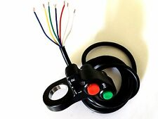 """UNIVERSAL 7/8"""" HANDLEBAR TURN SIGNALS LIGHT & HORN SWITCH 12V ELECTRICAL SYSTEMS"""