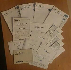 Shimano Stella Instruction guide