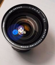 Vivitar 28-205mm f/3.5-5.2 MC Macro  O/M mount Olympus