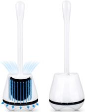 New ListingToilet Brush And Holder 2 Pack Toilet Brush With Ventilated Holder Toilet Bowl B