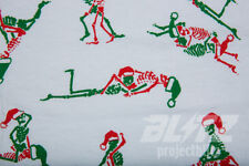 SUPREME CHRISTMAS TEE WHITE S M L XL FW17 T-SHIRT RED GREEN BOX LOGO SKELETON