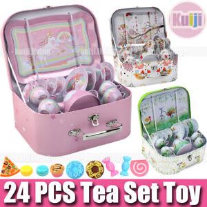 Kindergeschirr Puppengeschirr Metall Teeservice Kinder Spielgeschirr Kinderküche