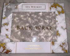 SPA WHIMSY BACK WRAP-LAVENDER AROMATHERAPY New
