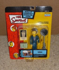 2003 Simpsons World of Springfield Legs - Mobster - Playmates Series 13