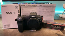 Very Low Use Canon EOS R 30.3MP Digital Camera - Black (Body Only)