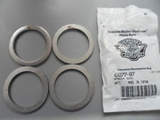 NOS Harley Davidson Front Fork Seal Spacers 1987 up FX and XL 45377-87 Qty 4
