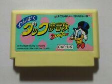 Nintendo Famicom NES: Duck Tales (Wanpaku Duck Yume Bouken) わんぱくダック夢冒険