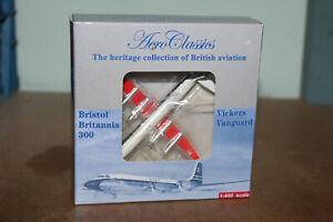 AERO CLASSICS 1:400 VICKERS VANGUARD  - BEA BRITISH EUROPEAN AIRWAYS G-APEB