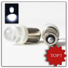 2 pezzi 10mm piedistallo in metallo LED t4w ba9s Xenon Bianco 6v