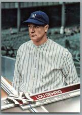 2017 Topps Update #US259B Lou Gehrig SP New York Yankees