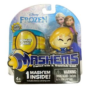 Disney Frozen Mashems With Bonus Case Super Squishy Anna Free Shipping