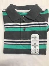 Boys 24 Months Jumping Beans Polo Shirt. 100% Cotton.